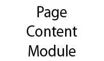 Page Content Module